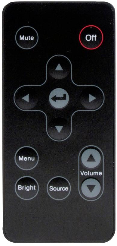 Remote Control for PK201, PK301, PK301+ Projectors