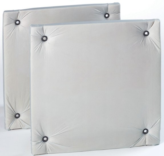 "1 Pair of 24"" x 24"" Silver Multi-Zorber Panels"