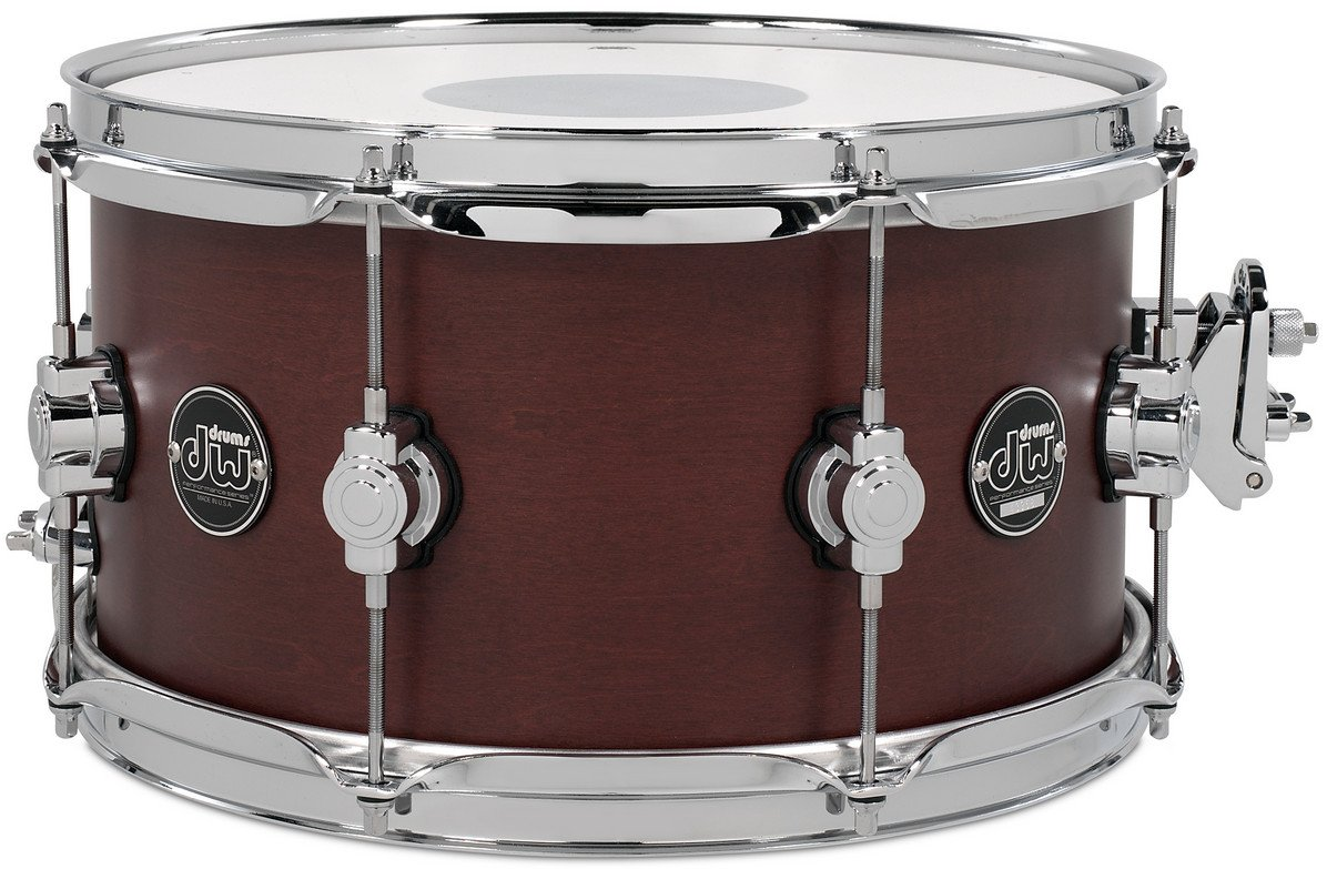 "DW DRPS0713SSTB 7"" x 13"" Performance Series Snare Drum in Tobacco Stain DRPS0713SSTB"