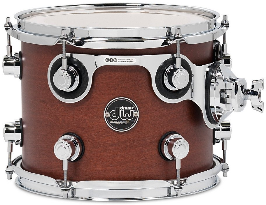 "8"" x 10"" Performance Series Rack Tom in Tobacco Stain"