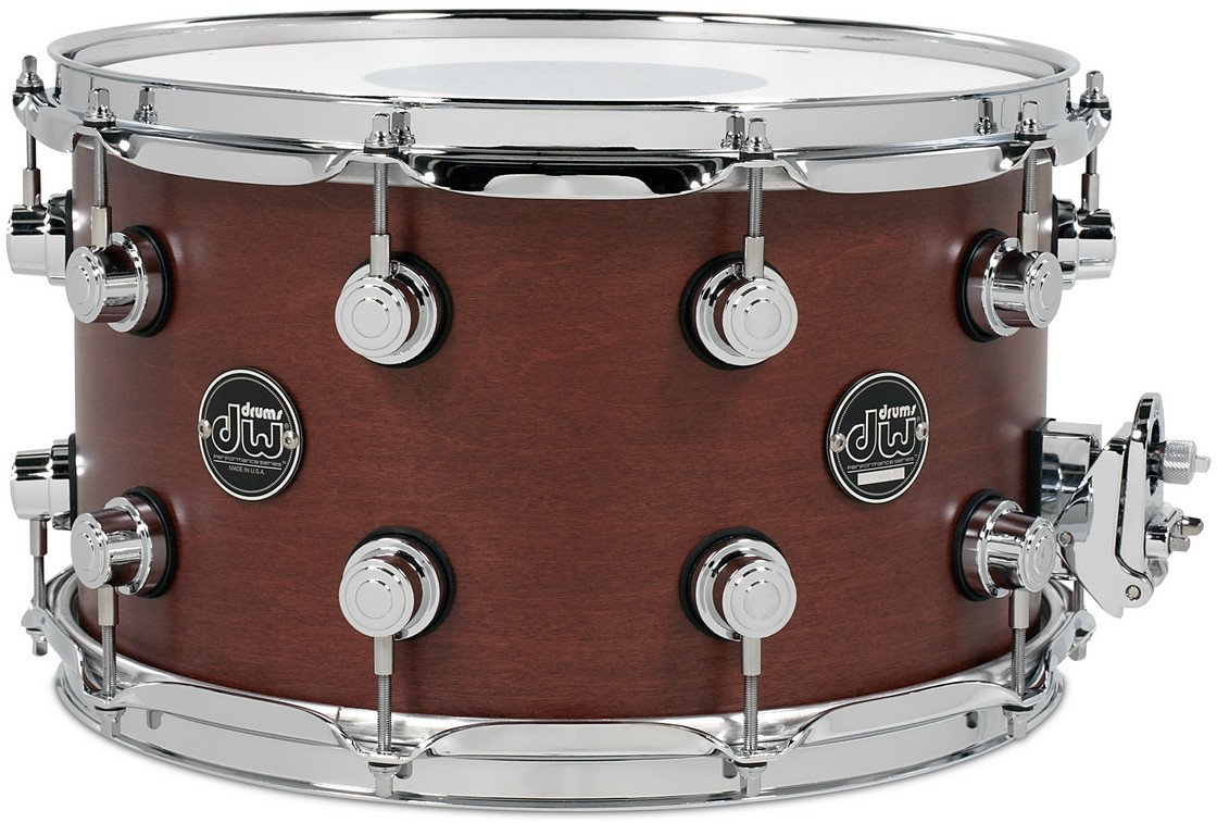 "8"" x 14"" Performance Series Snare Drum in Tobacco Stain"