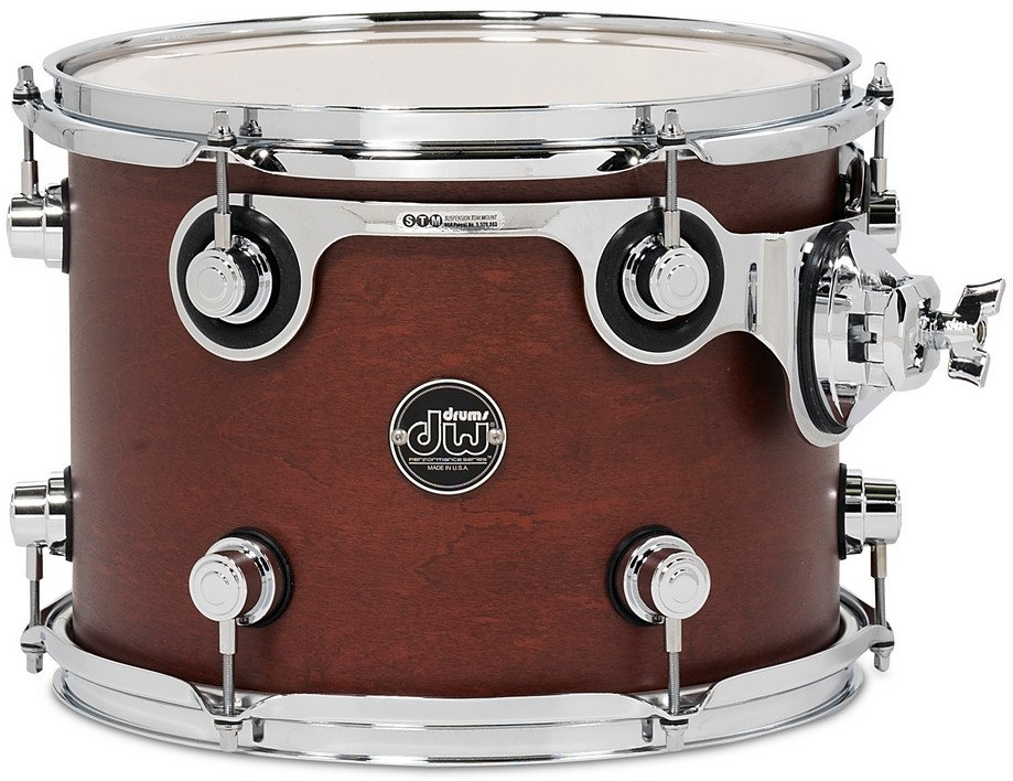 """9"""" x 12"""" Performance Series Rack Tom in Tobacco Stain"""