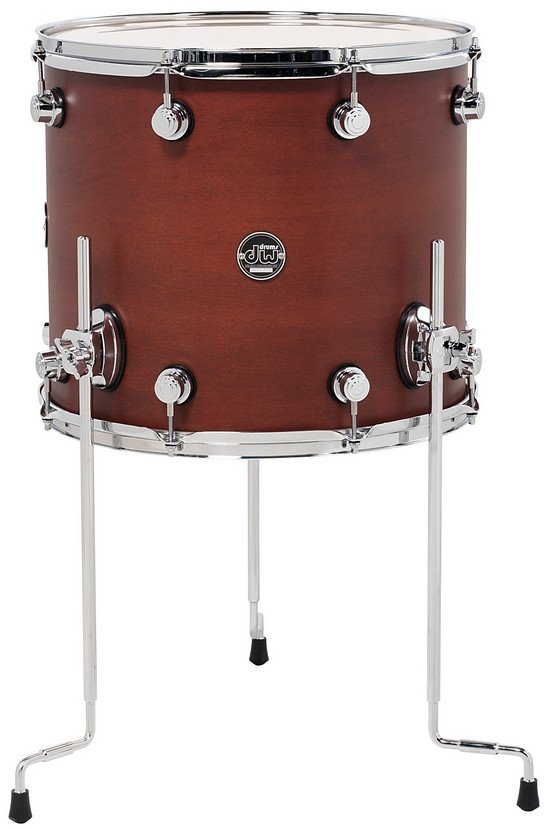 """16"""" x 18"""" Performance Series Floor Tom in Tobacco Stain"""