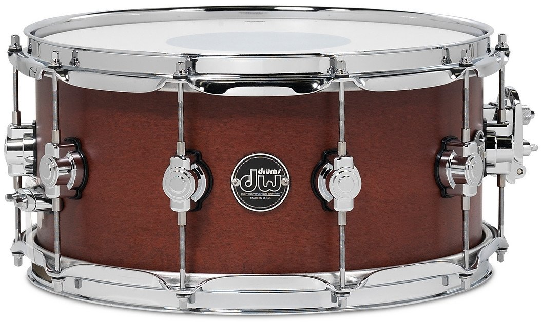 "6.5"" x 14"" Performance Series Snare Drum in Tobacco Stain"