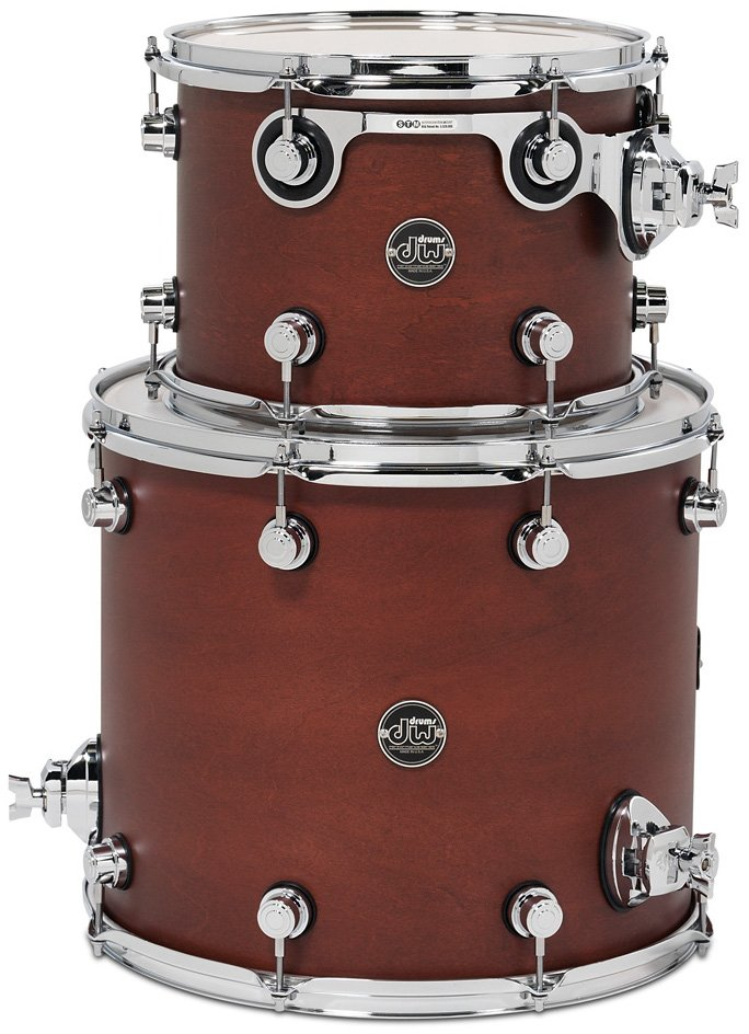"Performance Series HVX Tom Pack 2G: 8""x12"", 14""x14"" Toms in Tobacco Stain"