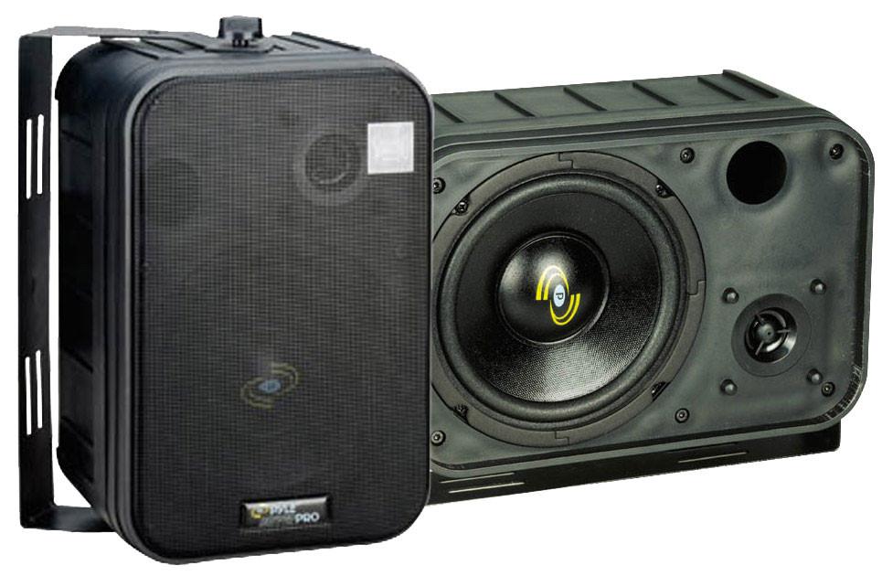 6.5'' Two-Way Bass Reflex Mini-Monitor System & Bookshelf/wall mount Speakers (Pair)