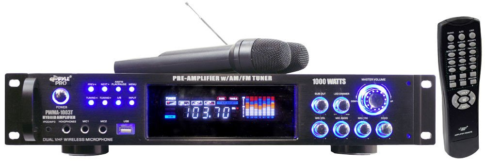 1000W Hybrid Preamp with AM/FM and USB