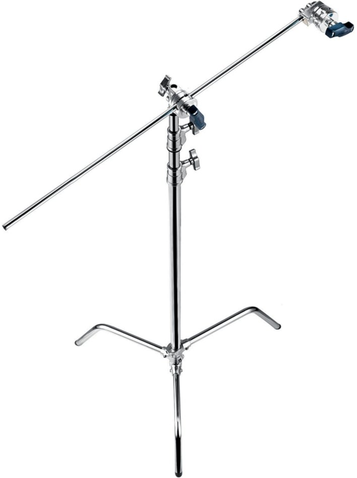 "with A2033F C-Stand, D200 2"" Grip Head, D520 40"" Extension Grip Arm"
