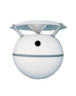 Soundsphere Loudspeakers Q-8 Foreground and Background Spherical Ceiling Speaker, Black Finish Q-8-BLACK