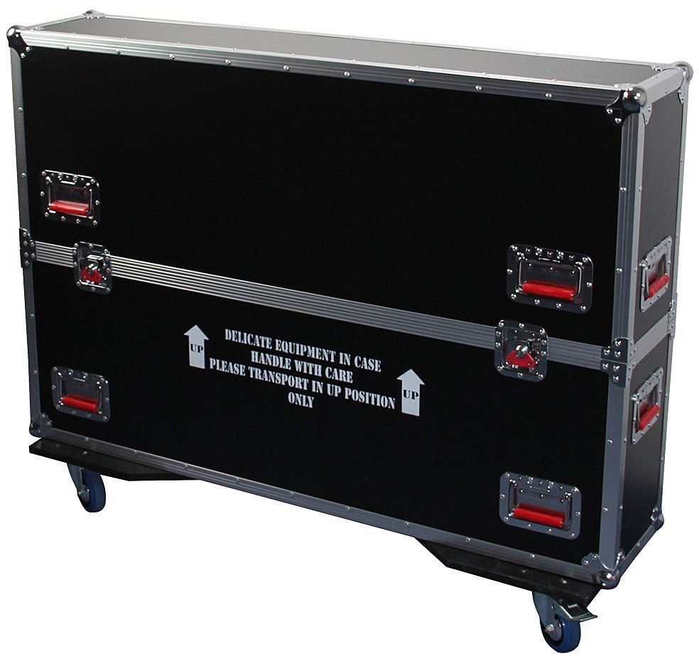 "G-TOUR ATA Flight Case for Two 43-50""  Flat Screens"