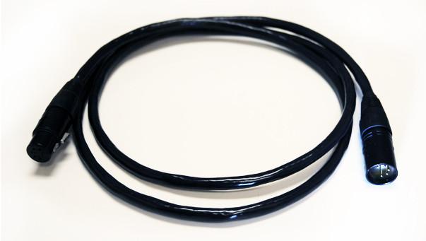 100' 3-Pin DMX XLRM-XLRF Cable
