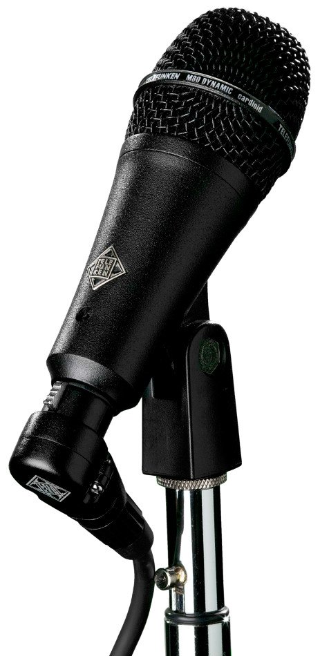Short Style Body Dynamic Cardioid Microphone with Black Grille