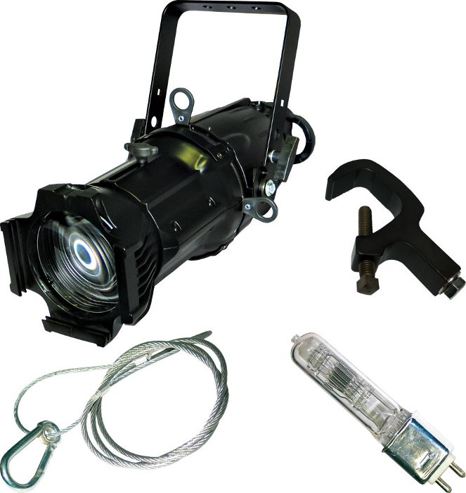 50° Ellipsoidal Fixture in Black