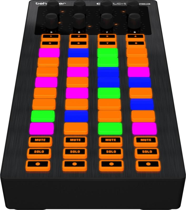 4x8 Grid DJ Controller