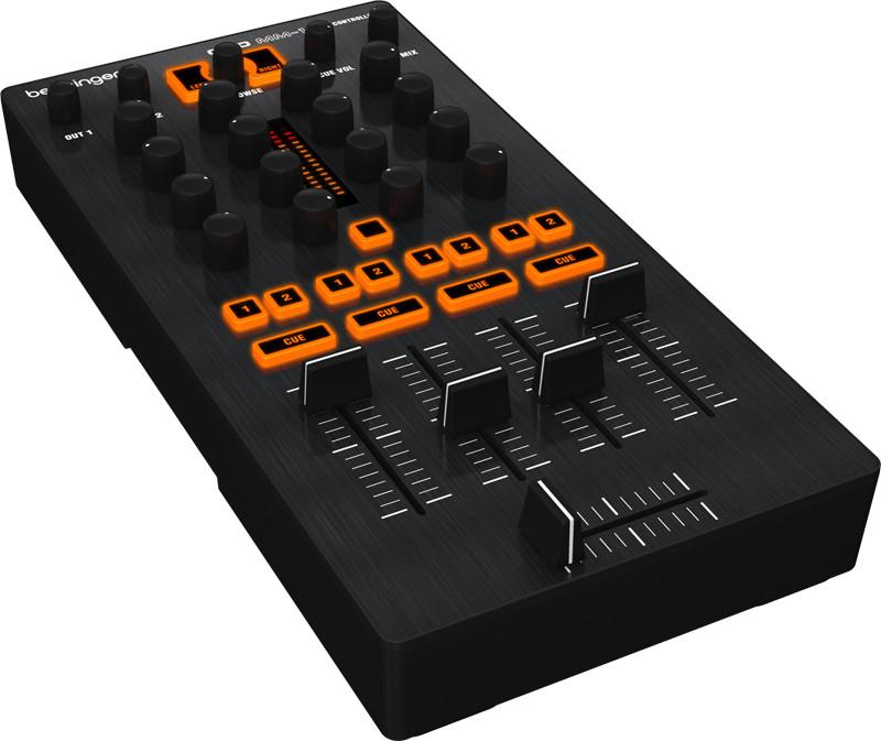4-Ch DJ Mixer/Controller