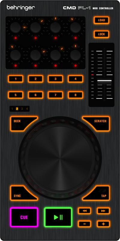 """4"""" DJ Platter Controller"""
