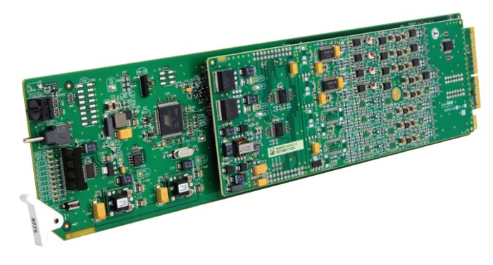 HD/SD-SDI 4 Channel Audio De-Embedder with Analog Audio