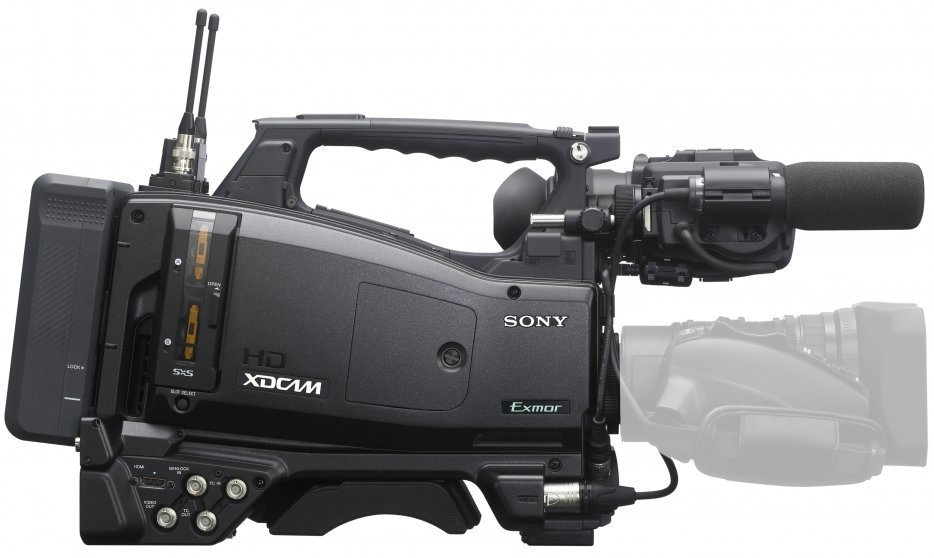 "XDCAM EX 2/3"" Shoulder-mount Camcorder without Lens"