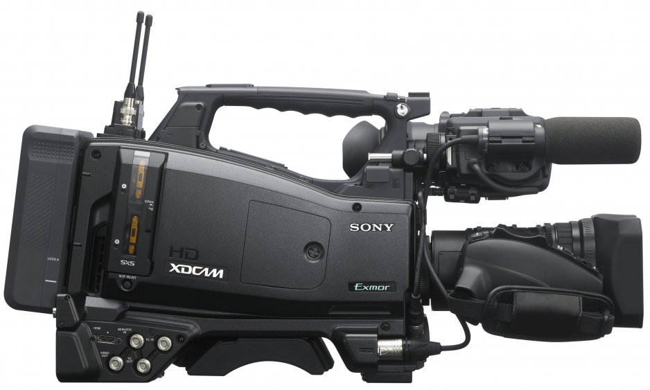 "XDCAM EX 2/3"" Type Shoulder-mount Camcorder with Lens Package"