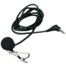 Unidirectional Lavalier Microphone for 15BT, 35BT, 31LT and Pro Series Systems