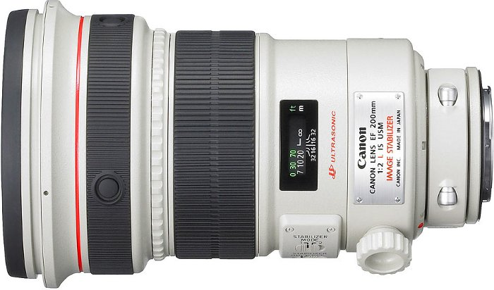 200mm f/2L IS USM EF Lens