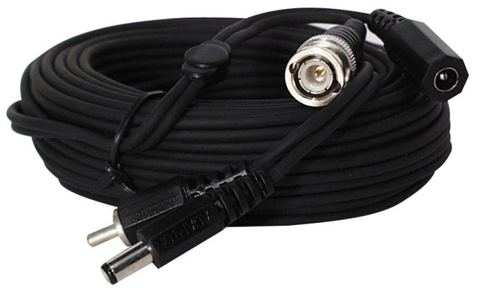 25' ft Video Power Cable with BNC Connectors