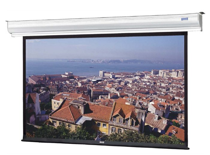 "Da-Lite 70192LS 137"" Diagonal CONTOUR® ELECTROL® - 16:10 Wide Format Wall and Ceiling Mounted Electric Screen 70192LS"