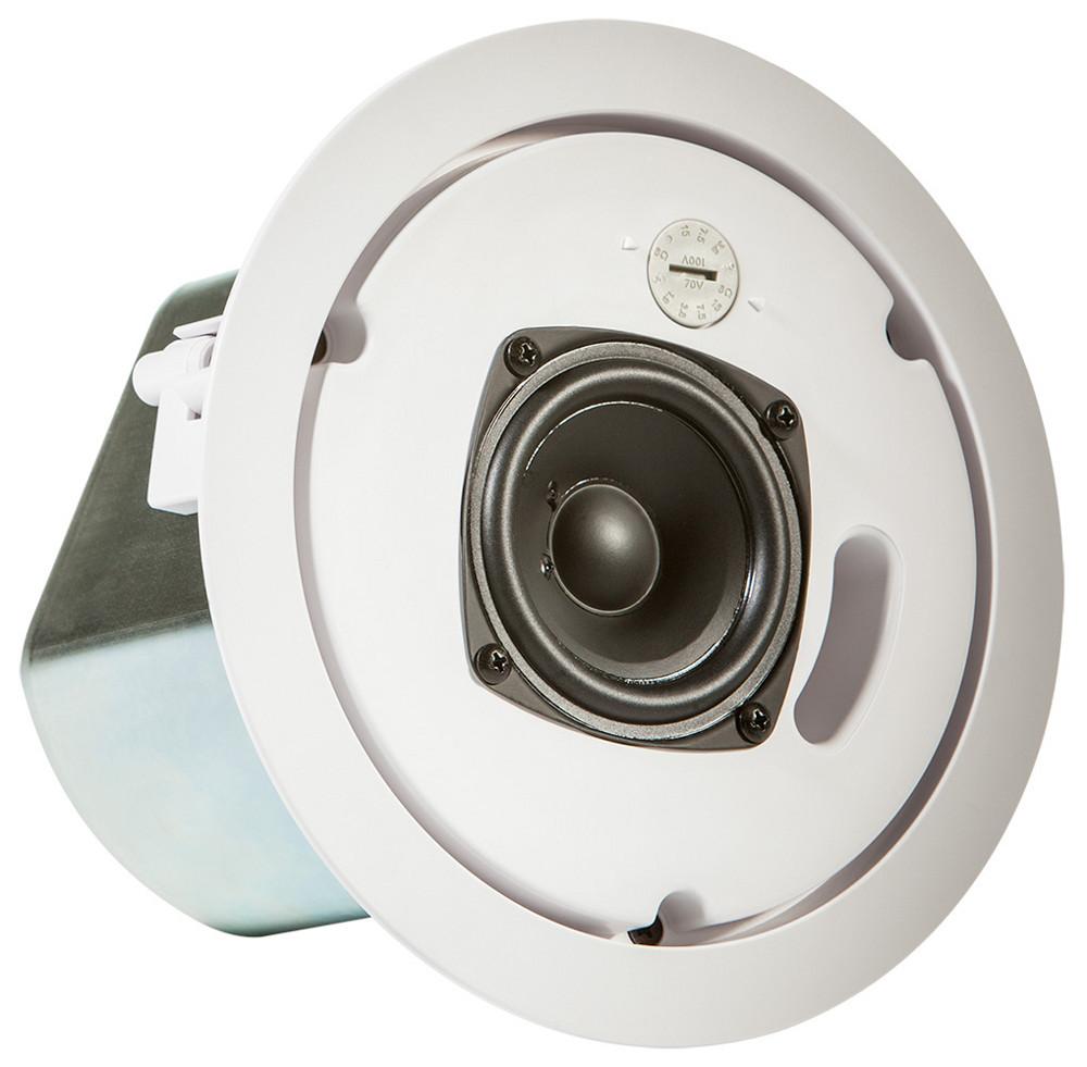 "3"" 2 Way Ceiling Speaker in White"