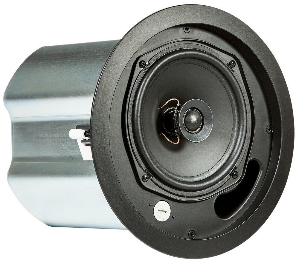 """6.5"""" 2 Way Ceiling Speaker in Black"""