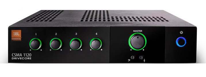 80-Watt 4x1 Mixer/Amplifier