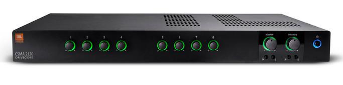 40-Watt 8x2 Mixer/Amp