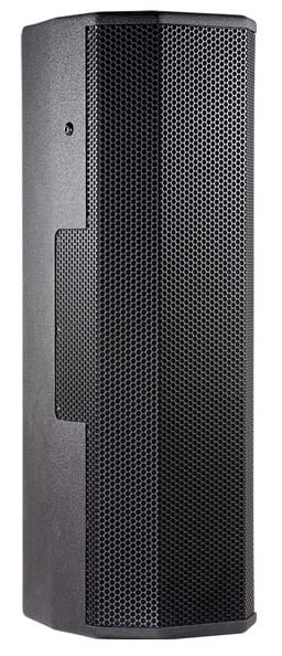 """Dual 8"""" 2-Way Loudspeaker System with Weather Protection Treatment and Crossfired Waveguide Technology"""