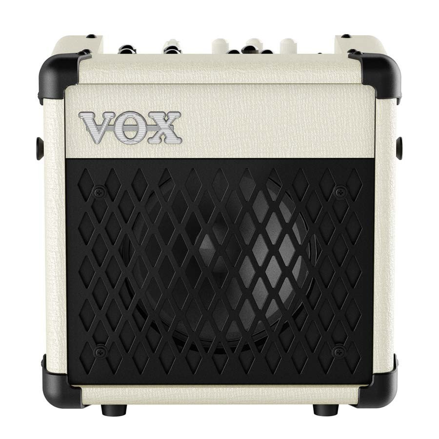 "5W 1x6.5"" Modeling Combo Guitar Amplifier in Ivory with Rhythm Patterns"
