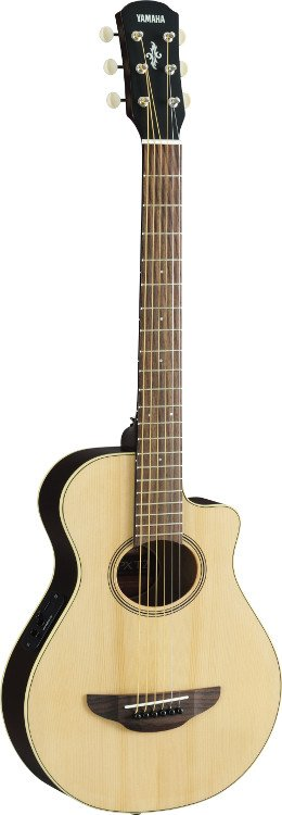 Natural Finish 3/4-Sized Acoustic/Electric Travel Guitar with System 68 Preamp