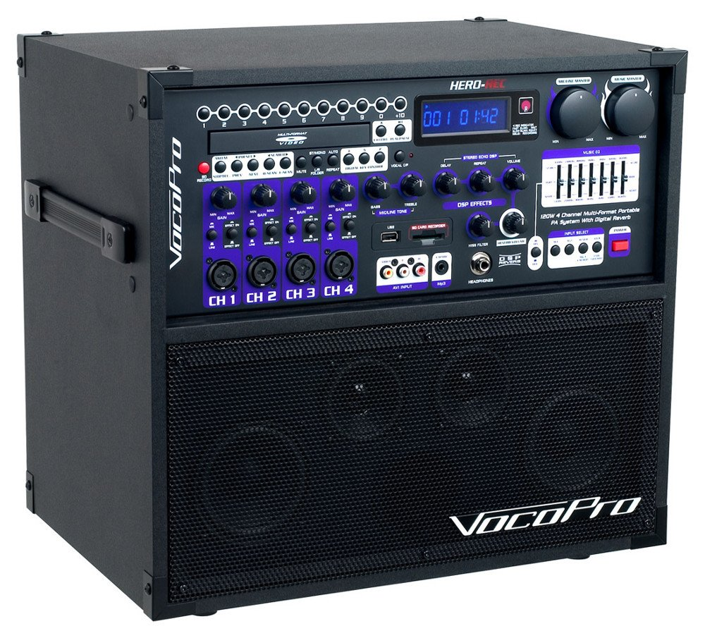 4-Channel Portable Multi-Format PA