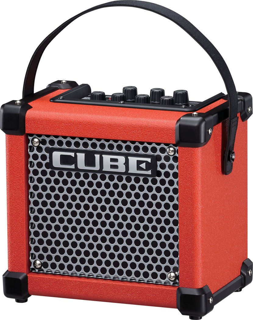 "3W 1x5"" Battery-Powered Modeling Combo Guitar Amplifier in Limited Edition Red"