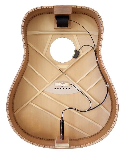 Internal Tru-mic Acoustic Guitar Microphone/Element Pickup System