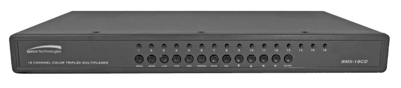Speco Technologies RMX-16CD 16 Channel Color Duplex Multiplexer RMX16CD