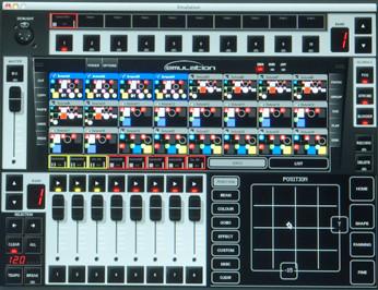 1024-Channel DMX Control Software