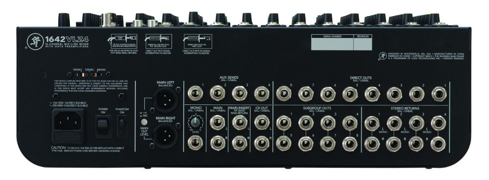 16 Channel Compact 4 Bus Mixer