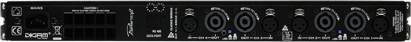 700W @ 4 ohms 4-Channel Power Amplifier