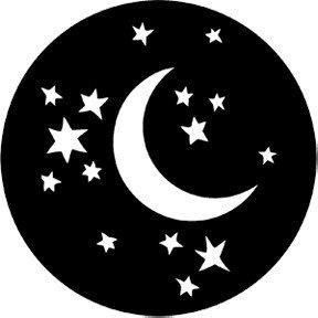 """Moon & Stars"" Gobo"