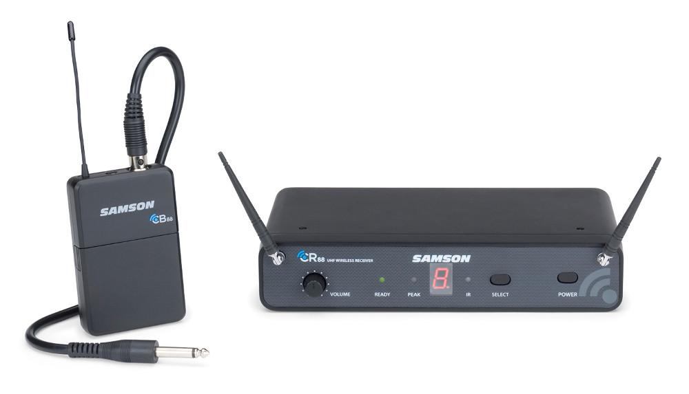 Wireless Guitar Bodypack System, 638 - 662 MHz