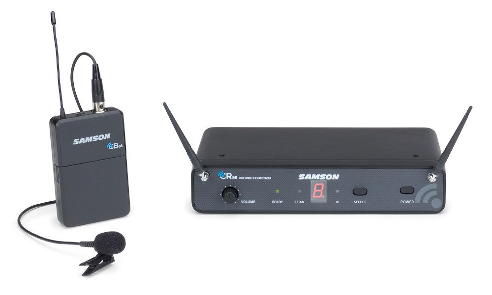 Concert 88 Series 16-Channel True Diversity UHF Wireless Lavalier System, 545.0-565.0 MHz
