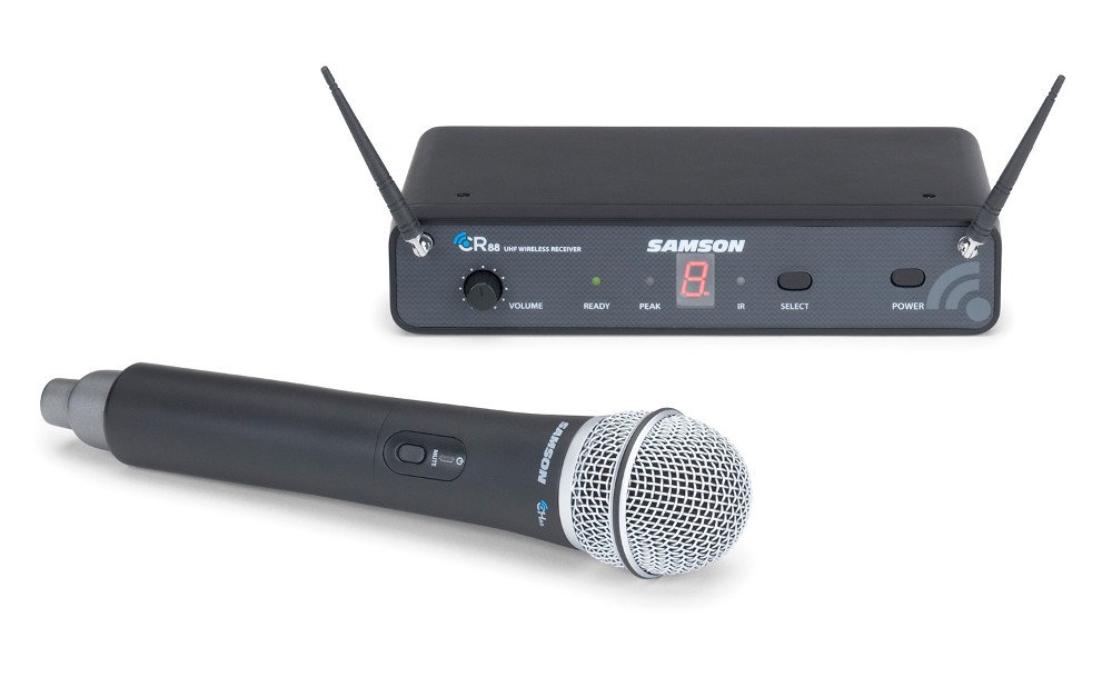 Concert 88 Series 16-Channel True Diversity UHF Wireless Handheld Microphone System, 638-662 MHz