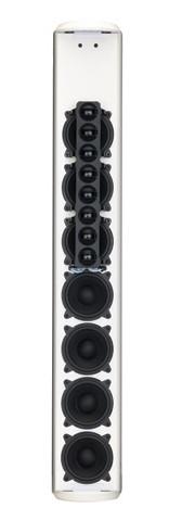 400W Passive Column Array Loudspeaker in White