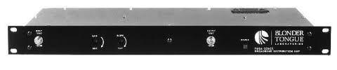 Rack-Mounted Passive Distrubution Amplifier with 30 dB Gain, 40-550 MHz