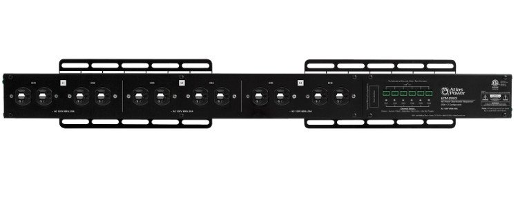 Atlas Sound ECM-2063  20A+20A+20A AC Power Distribution Sequencer Raceway ECM-2063