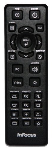 Replacement Remote Control for IN112, IN114, IN116 Projectors