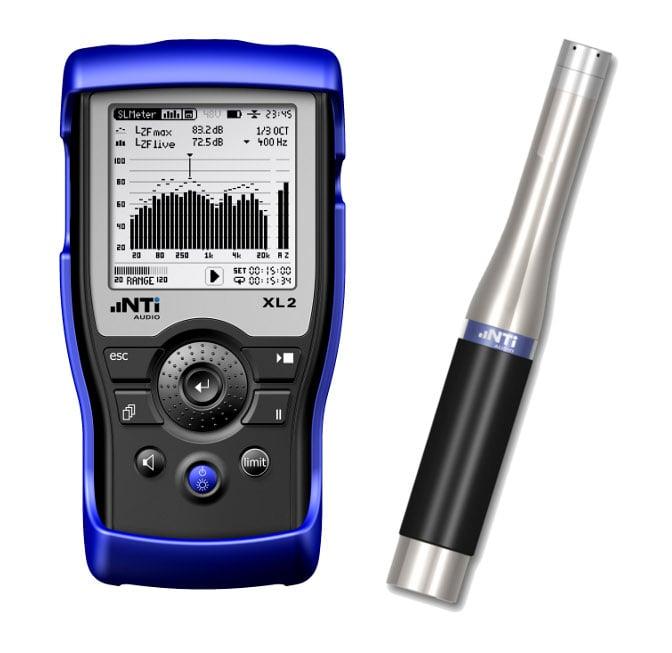 XL2 Audio Analyzer with the M2230 Microphone